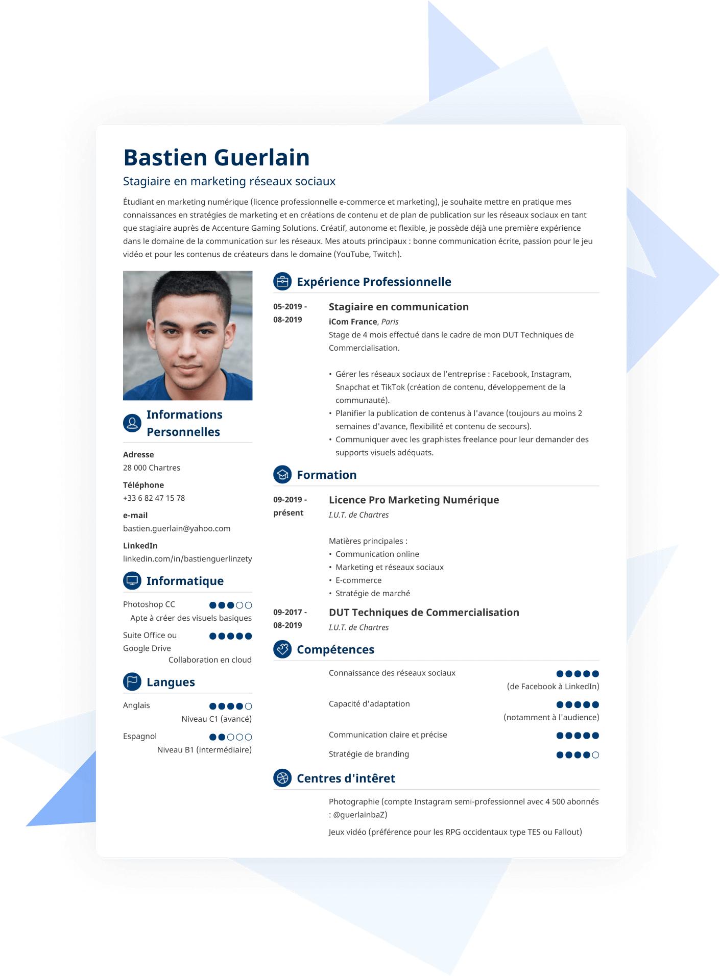 Comment faire un CV parfait