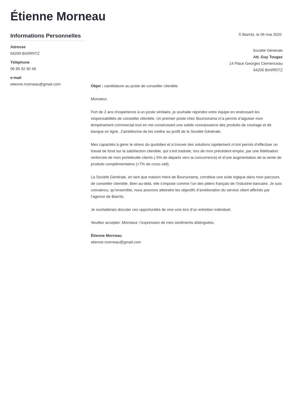 Lettre De Motivation Guichetier Banque Debutant Modele De Lettre