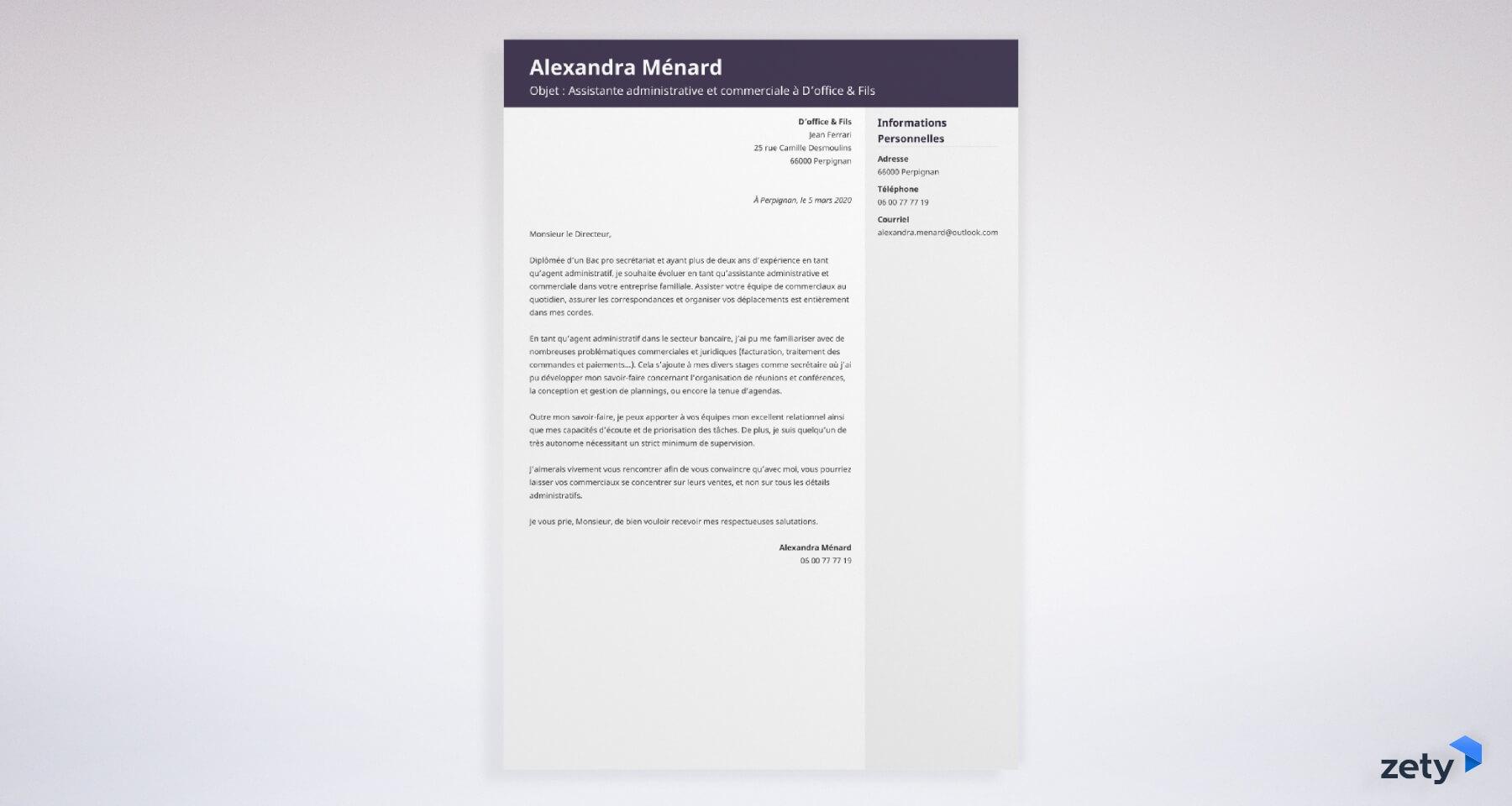 Objet D Une Lettre De Motivation 20 Exemples Objet D Email