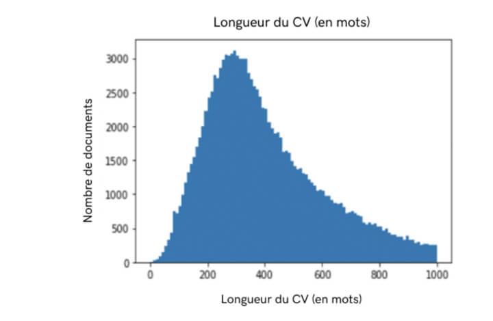 statistiques curriculum vitae